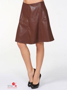 Юбка Eva Franco, цвет коричневый