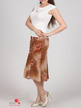 Юбка Иренир, цвет светло-коричневый