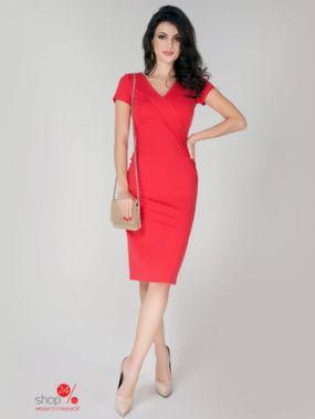Платье Olga Skazkina, цвет коралловый