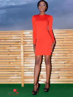 Платье Marani, цвет красный