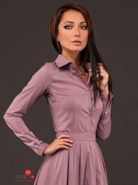 Рубашка Marani, цвет сиреневый