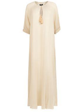 Платье с кисточками