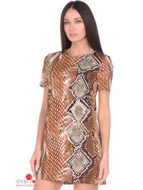 Платье La Via Estelar, цвет коричневый