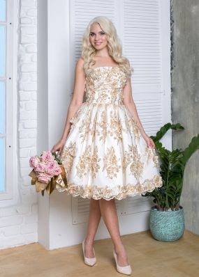 Коктейльное платье VF012B