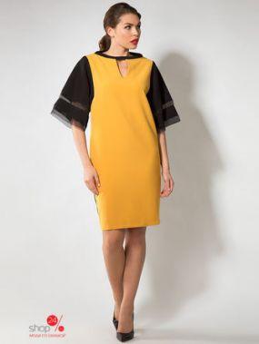 Платье Iris Rose, цвет горчичный