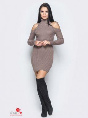 Платье LARIONOFF, цвет коричневый