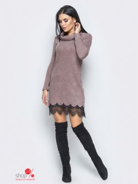 Платье LARIONOFF, цвет темно-розовый