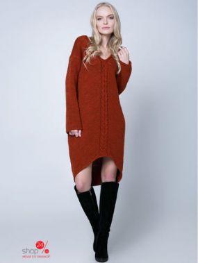 Платье Sewel, цвет терракотовый