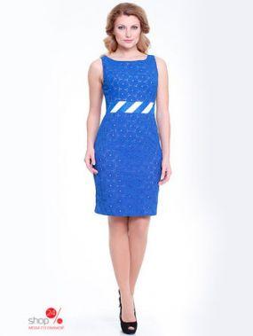 Платье MILORI, цвет синий