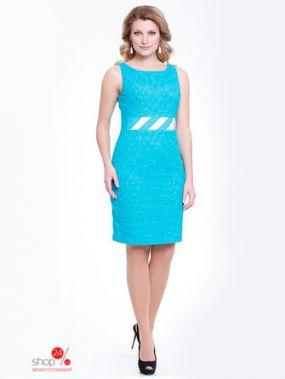 Платье MILORI, цвет бирюзовый