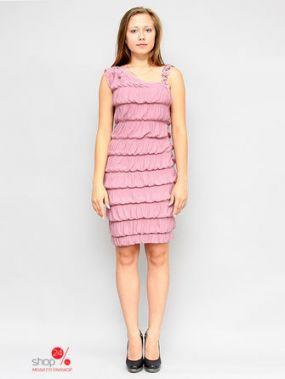 Платье MILORI, цвет светло-розовый