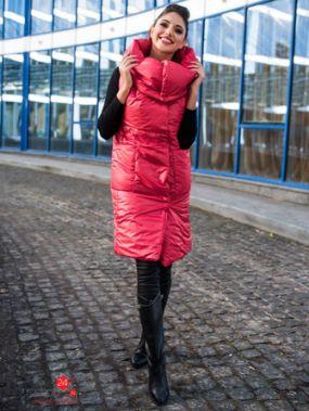 Жилет Fashion confashion, цвет красный