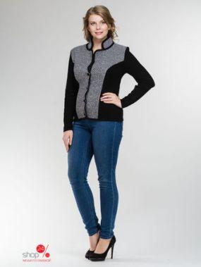 Жакет Milana Style, цвет черный, серый