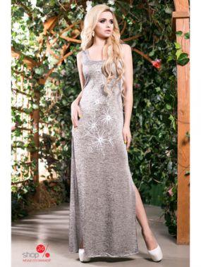 Платье Seventeen, цвет серебряный