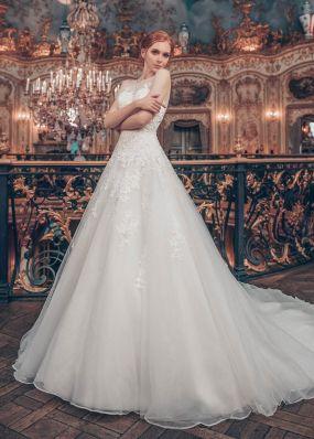 Свадебное платье с орнаментом ED002
