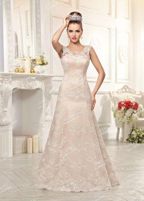 Длинное свадебное платье EV017