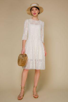 Платье 106892 Beige