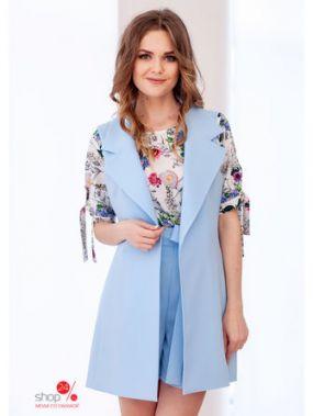 Жилет Mio Marta, цвет голубой