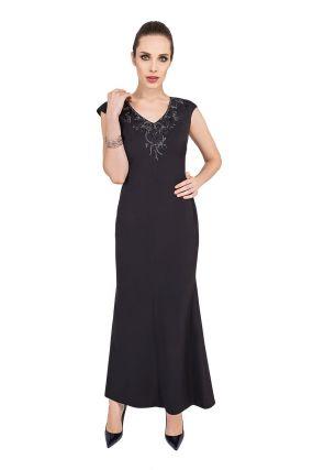 Платье POTIS&VERSO Ариа 302F цвет черный