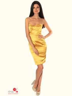 Платье Diva, цвет золотой