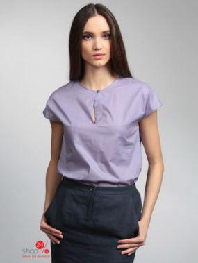 Блуза ЭНСО, цвет сиреневый