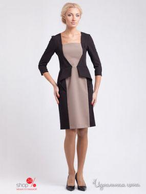 Платье Levall, цвет черный, бежевый
