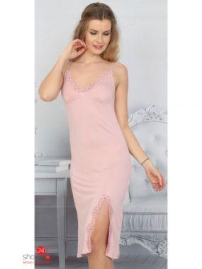 Сорочка Mariposa, цвет светло-розовый