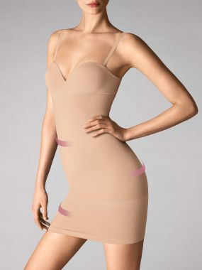 opaque naturel forming dress