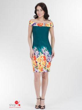 Платье Lo.Te, цвет изумрудный