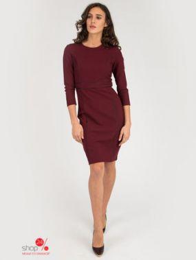 Платье Incity, цвет темно-бордовый