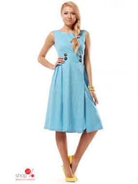 Платье Lesya, цвет голубой