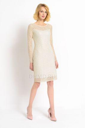 Платье POTIS&VERSO Эйфория 387M цвет бежевый