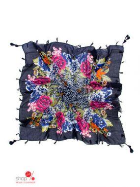 Платок Klingel, цвет темно-синий, разноцветный