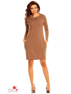 Платье Nommo, цвет бежевый