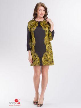 Платье Juicy Couture, цвет черный, желтый