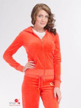 Толстовка Juicy Couture, цвет оранжевый