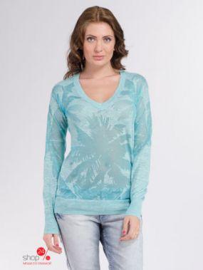 Пуловер Juicy Couture, цвет голубой