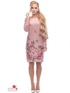 Платье Петербургский Швейный Дом, цвет розовый
