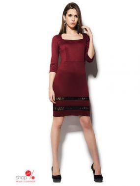 Платье Cardo, цвет темно-красный
