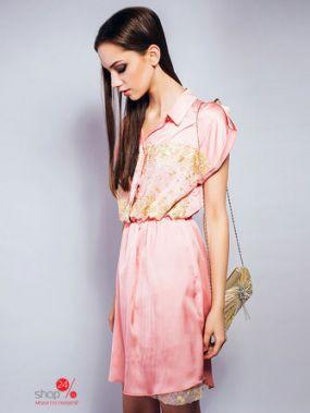 Платье Lady White, цвет розовый