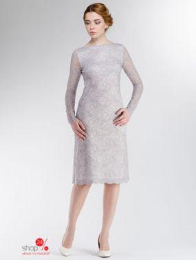 Платье Alina Assi, цвет серебристый