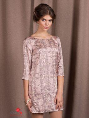 Платье Viaggio Donna, цвет розовый, коричневый