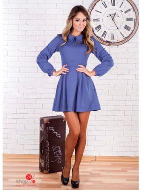 Платье Zean, цвет ярко-синий