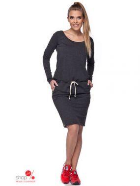 Платье Lemoniade, цвет темно-серый
