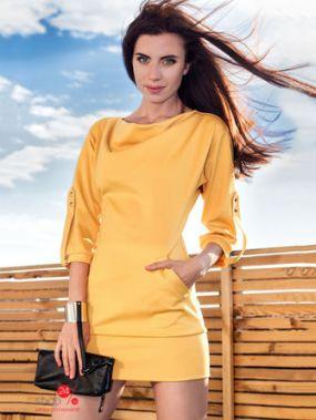 Платье Marani, цвет желтый