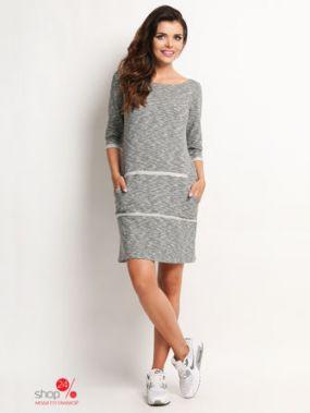 Платье Awama, цвет серый
