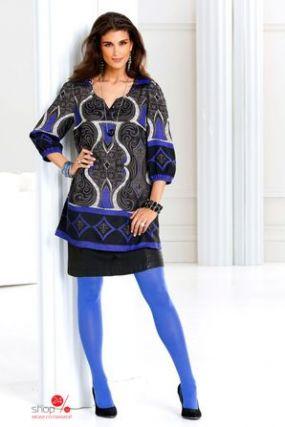 Туника Cellbes, цвет синий, черный