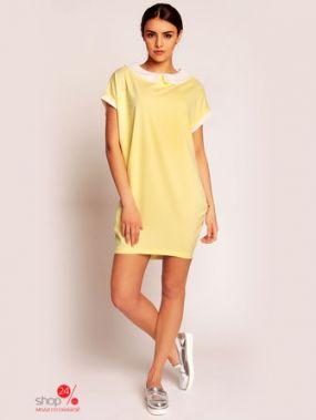 Платье KAREN, цвет желтый