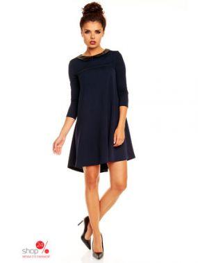 Платье KAREN, цвет темно-синий