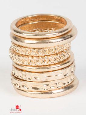 Комплект колец ALDO, цвет золотой